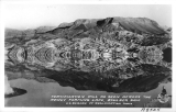 Fortification Hill as seen across the newly forming Lake, Boulder Dam U.S. Bureau of Reclamation Photo