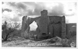 Ruins of Old Fort lOwell near Tucson, Arizona