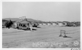 "Camp Apache - ""V.M. Smith, Prol."" modern Cabins - 1/2 mile east of Globe, Arizona on U.S. 180"