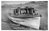 Excursion Boat on Black Canyon Reservoir, Boulder Dam
