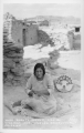 Hopi Basket Maker, Oraibi Village, Hopi Indian Reservation Arizona