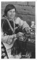 A Pueblo Lady Silversmith, Gallup, New Mexico