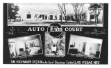 Lido Auto Court On Highway 91 Las Vegas Nevada