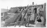 "Indian Homes, Acoma, New Mexico, ""The Sky City"""