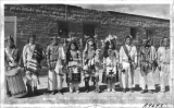 Zuni Ceremonial Dancers New Mexico
