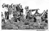 Eagle Dancers of the Tesque Indian Pueblo