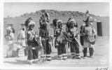 """Braiding Dance"" Acoma Pueblo Indians, New Mexico"