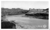 A View of the Colorado River above Community Ferry Crossing Parker, Arizona to Earp, Californiap