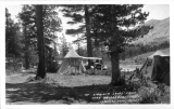 At Virginia Lakes Camp near Bridgeport, California