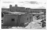 "Historic Old Mission at Acoma Indian Pueblo, ""The Sky City"", New Mexico"