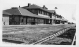 Railway Depot, Mojave, California