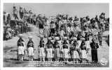 Indian Dancers from Many Tribes, Inter-Tribal Indian Ceremonials, Gallup, New Mexico