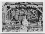 "You are Welcome Any Time to Visit ""Frashers"" Sierra Photo and Souvenir Shop June Lodge Lobby June Lake"