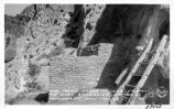 The Talus House, viewed from the East, Bandelier National Monument, New Mexico