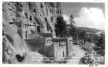 Talus House, Viewed fromWest, Bandelier Natl. Monument, New Mexico