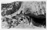 Ancient Indian Cliff Dwellings, Walnut Canyon, near Flagstaff, Arizona