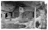Balcony House Ruins , Soda Canyon, Mesa Verde National Park, Colorado