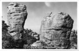 Rock Formation, Wonderland of Rocks, Chiricahua National Monument, Arizona
