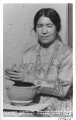 Severa Tafoya, Santa Clara Indian Pottery maker, New Mexico