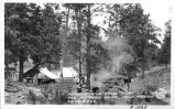 Kitchen and Store Tent Fox Mt. Road Camp, New Mexico CO 1818 CCC
