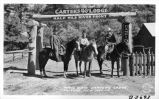 Main Gate, Carter's Lodge, Ruidoso, New Mexico