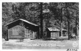 """Navajo"" and ""Apache"" Cabins, Carter's Lodge, Ruidoso, New Mexico"