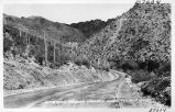 Entering Sabino Canyon, near Tucson, Arizona