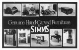 Genuine Hand-Carved Furniture by Simms