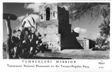 Tumacacori Mission Tumacacori National Monument on the Tucson-Nogales Hwy.