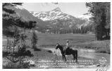 Ehrnbeck Peak, Piute Meadows, W. Walker River, Back Country Leavitt Meadows, Mono County California