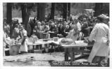 Barbecue, Mt. Whitney Portal Dedication, May 31, 1936, Lone Pine, California