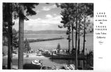 Lake Tahoe as seen from the Tahoe Tavern, Lake Tahoe, California