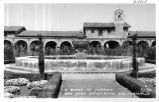 A Scene at Mission San Juan Capistrano, California