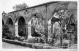 Arches at Mission San Juan Capistrano, California