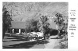 On the Grounds of the Desert Inn Palm Springs California