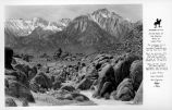 Alabama Hills Lone Pine Inyo County California