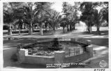 City Park from City Hall, Brawley, California