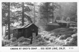 Cabins at Grey's Camp, Big Bear Lake, California
