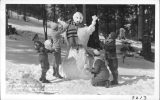"""Winter Sports"" at Big Pines Los Angeles County Recreation Camp, California"