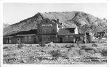 Rhyolite Ghost Casino, The Train Depot to which Tracks were never laid, at the Ghost City of Rhyolite,