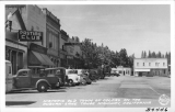 Historic Old Town of Colfax on the Auburn-Lake Tahoe Highway, California