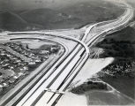 Freeway Interchange Aerial View